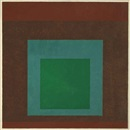Josef Albers, Study for Homage to the Square: Quiet Land