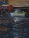 Wayne Thiebaud, Sacramento River (At Sutterville Road)
