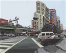 Richard Estes, Six Views of Edo: Ueno