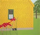 Alex Katz, The Yellow House
