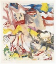 Willem de Kooning, Figures in Landscape VI