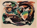 Karel Appel, Composition