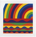 Sol LeWitt, Arcs and Bands in Colors: D