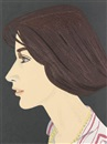 Alex Katz, Susan (from An American Portrait, 1776-1976)
