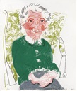 David Hockney, Portrait of Mother I (from Moving Focus)