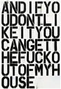 Christopher Wool, And If