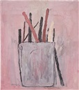 Philip Guston, Brushes