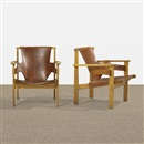 Hans J. Wegner, Papa Bear chair and ottoman