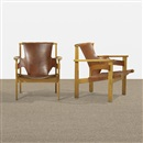 Carl-Axel Acking, Trienna armchairs (pair)