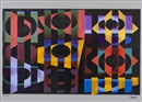 Yaacov Agam, Night Over Jerusalem