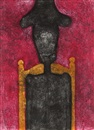 Rufino Tamayo, Man in Black (sold with 241B; set of 2), Man in Black (sold with 241B; set of 2)