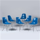 Charles and Ray Eames, DSRs (set of 6)