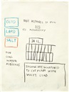 Jean-Michel Basquiat, Untitled (Jail)