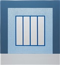 Peter Halley, Blue Prison