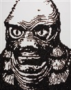 Vik Muniz, Creature from the Black Lagoon from Pictures of Caviar