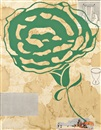 Donald Baechler, Untitled (Green Flower)