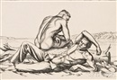 Paul Cadmus, Two Boys on a Beach, No. 2