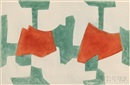 Serge Poliakoff, Composition in Blue, Green, and Red