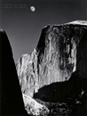 Ansel Adams, Moon and Half Dome, Yosemite National Park, California