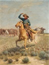 Charles Craig, Cowboy Throwing Lasso