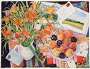 Susan Abbott, Fields, Cards and Daylilies