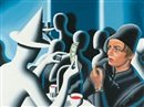 Mark Kostabi, Not on the money (For Mykul)