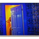 Guido Argentini, Thea Through a Blue Door