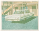 Robert Bechtle, 64 Impala and 63 Bel Air (2 works)