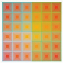 Richard Anuszkiewicz, Double Squares and Spectral Squares (2 works)
