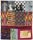 Robert Rauschenberg, Samarkand Stitches #V (from Samarkand Stitches series)