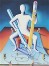 Mark Kostabi, Sharpen your wit