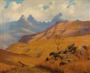 Willem Hermanus Coetzer, Cathedral Peak, Drakensberg