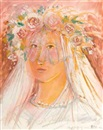 Christo Coetzee, Malay Bride in Pink