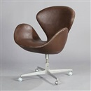 Arne Jacobsen, The Swan easy chair (model 3324)