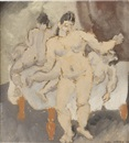 Max Weber, Three nudes