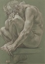 Paul Cadmus, Male Nude NM197