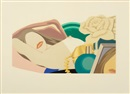 Tom Wesselmann, Nude with Rose