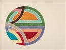Frank Stella, Sinjerli variation I (from Sinjerli variations series)