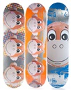 Jeff Koons, Monkey Train Skate Decks (suite of 3 works)
