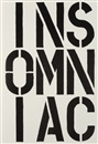 Christopher Wool, Black Book (portfolio of 17)