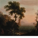 Manner Of Claude Lorrain, Hero and Leander