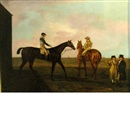 Manner Of Benjamin Marshall, Horses and Riders