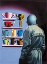 Mark Kostabi, Mug shop
