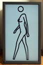 Julian Opie, Sara walking naked