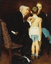 Norman Rockwell, Doc Mellhorn and the Pearly Gates He was just a good doctor and he knew us inside out