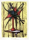 Bernard Buffet, Anthuriums et Iris