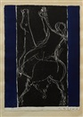 Marino Marini, Horse and Rider (pair)