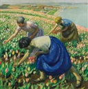 Harold Harvey, Tulip pickers