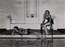 Helmut Newton, La piscine, Vogue France