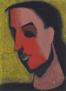Milton Avery, Untitled (Head of Woman)